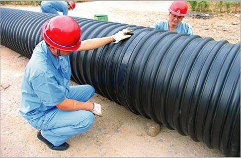 大型排污管连接件必须质量过关,影响子孙后代的工程