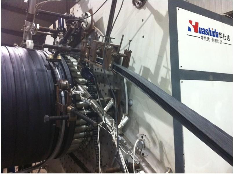 塑钢缠绕管生产线马云也在关注