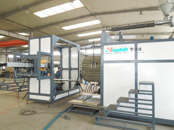 华仕达被伊朗客户指定为中空壁缠绕管设备的制造商