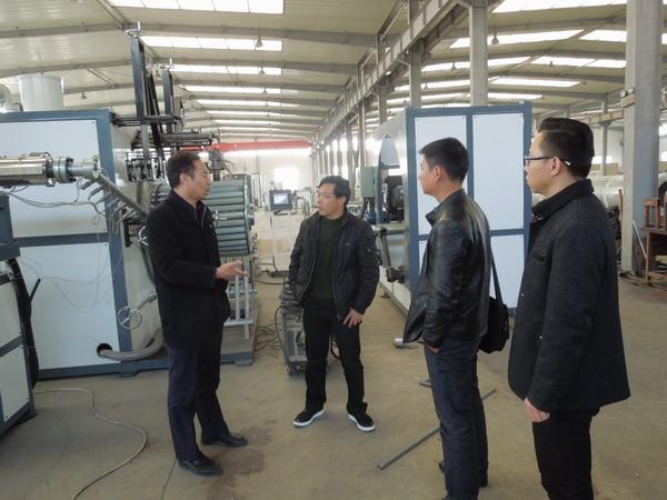 华仕达1200型中空壁缠绕管生产线技术性能