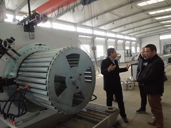 华仕达拥有强大的中空壁缠绕管生产线技术优势