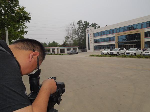 被山东电视台专题报道华仕达3PE钢管防腐生产线