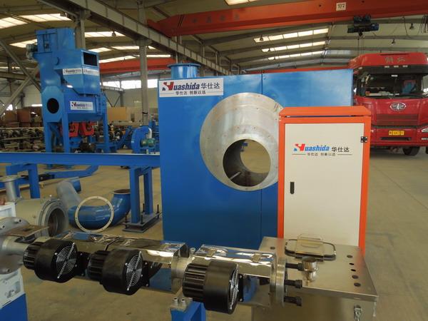 华仕达个性化打造三PE防腐管道生产线