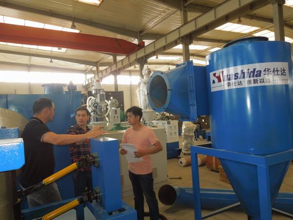 华仕达与哈萨克斯坦成功合作 3PE钢管防腐生产线验收合格