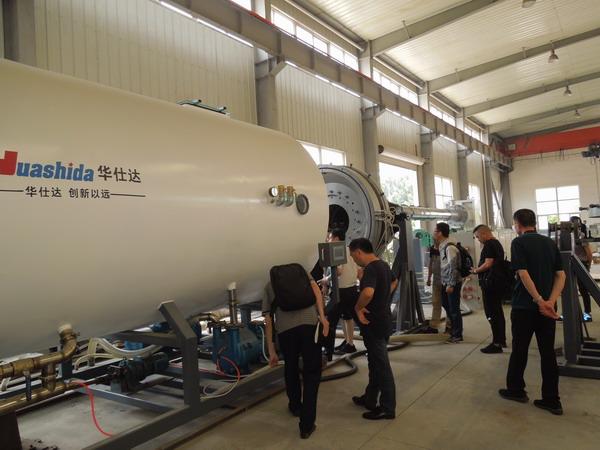 中核华兴9000万元供热工程 采购了华仕达4套保温管设备