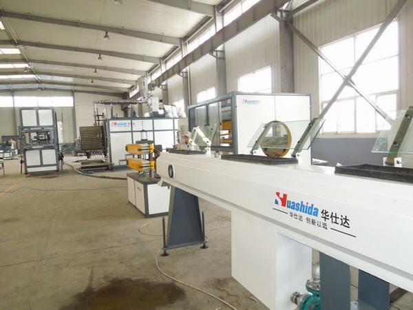 塑料化粪池是用华仕达大口径缠绕管生产线生产的