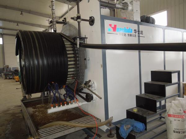 管材优势源于华仕达的缠绕管设备优势