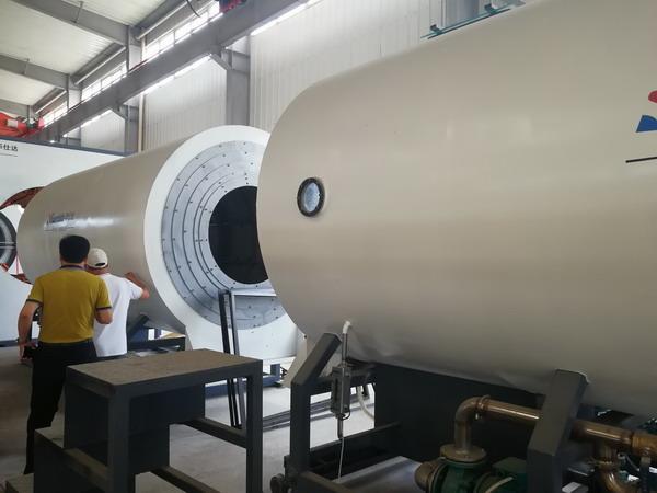 华仕达大口径1840保温管生产线