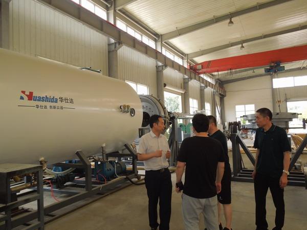 央企已成为到华仕达采购保温管设备的主力