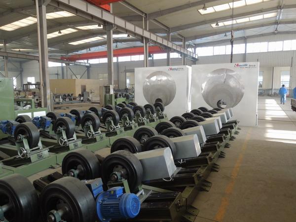 华仕达获ISO质量管理体系认证的3PE钢管防腐生产线