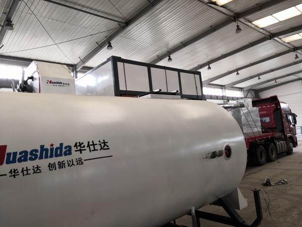 华仕达向南京公司发了第二条保温管生产线