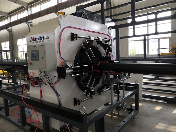 保温管生产线和华仕达的创新技术优势
