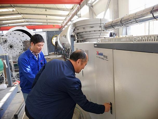曲格管业生产一周说明华仕达保温管生产线稳定可靠