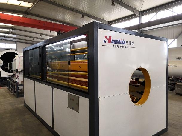 600型保温管设备采用新技术  华仕达为临沂客户打造新型设备