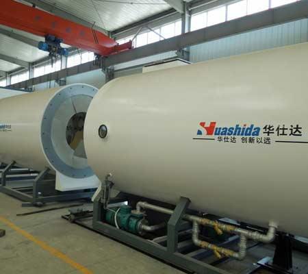 保温管设备之华仕达真空定径技术和内充气法优劣分析
