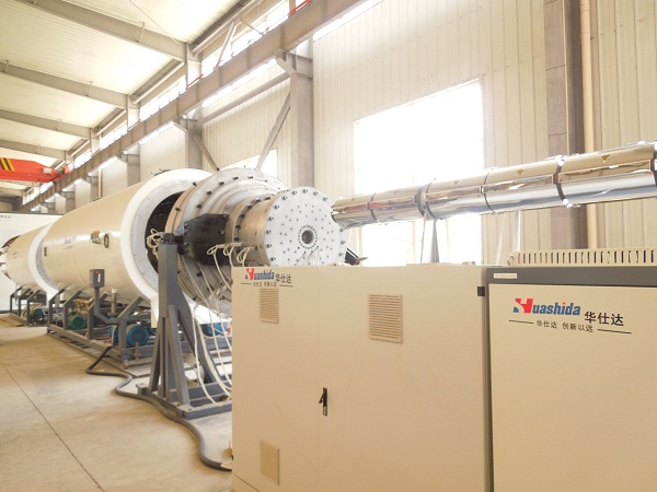 保温管设备新标杆,华仕达自动化升级再上新台阶