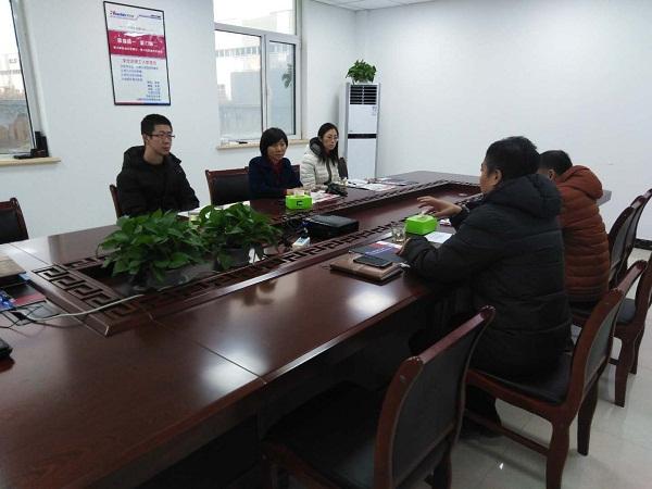 区工信局李局长到华仕达调研  表示将尽快推动华仕达上市计划