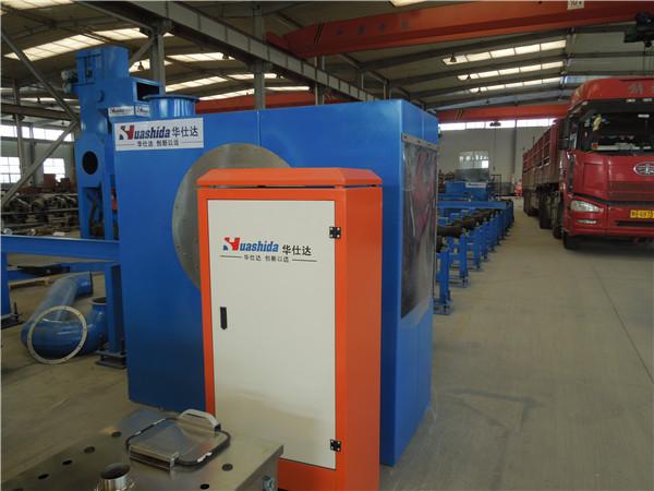 华仕达技术分析3PE防腐管道生产线
