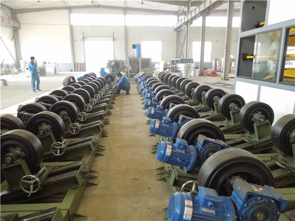 3PE防腐管生产线非标定制华仕达管道传动设备
