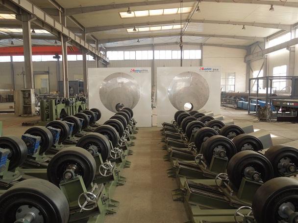 华仕达3 PE防腐管生产线对管道传动设备规范化设计