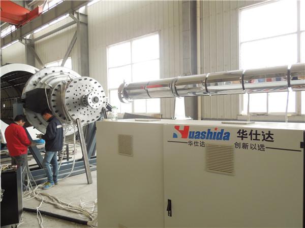 华仕达是用责任心来生产保温管生产线