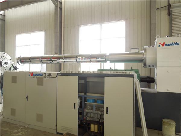 华仕达非标定制量身打造保温管生产线