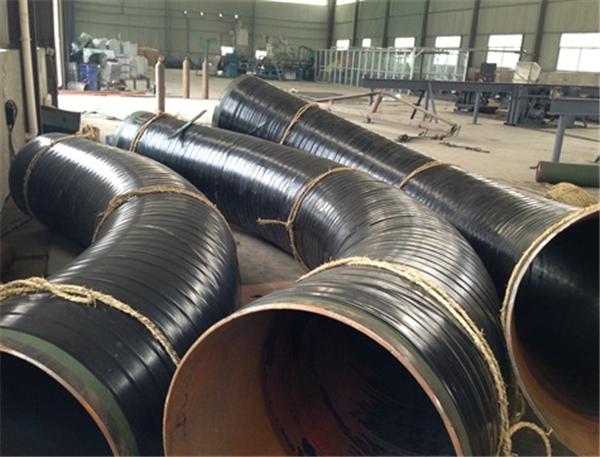 华仕达的426-820型3PE弯管缠绕生产线
