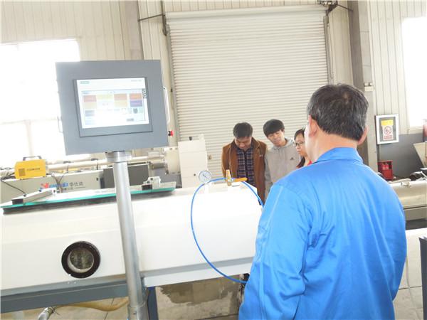 华仕达的HDPE中空壁缠绕管设备 是生产市政管道的不二选择
