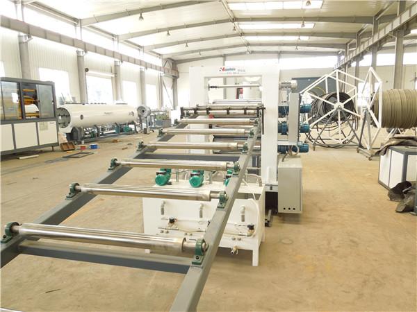 华仕达能通过环保评审的电热熔套生产线