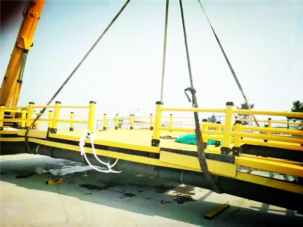 华仕达海洋养殖踏板生产线