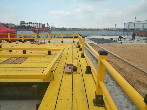 华仕达海洋牧场塑料踏板生产线