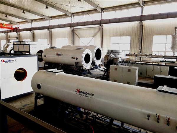 保温管生产线华仕达的优势主要体现在螺杆上