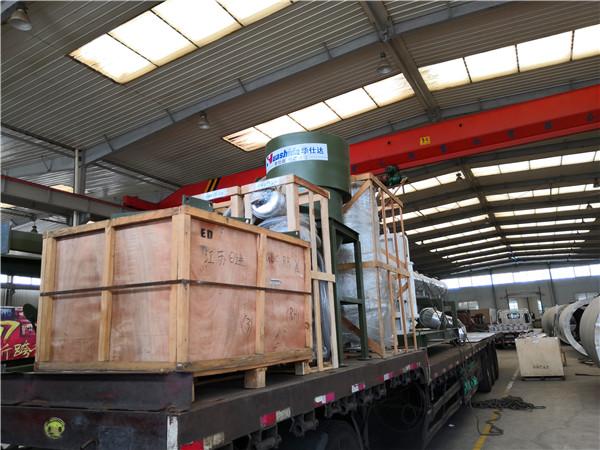 华仕达连夜为河北双欧发送3PE钢管防腐生产线