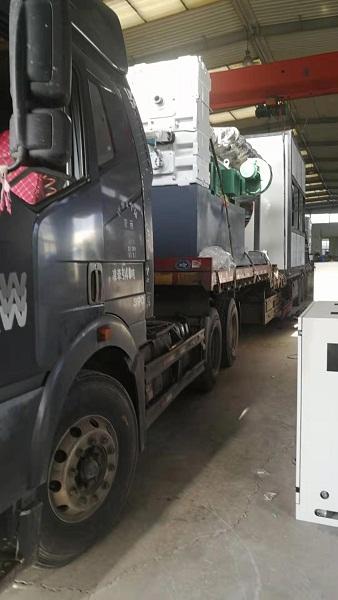 华仕达本周向吉林客户发送  Ф1380mm型保温管设备