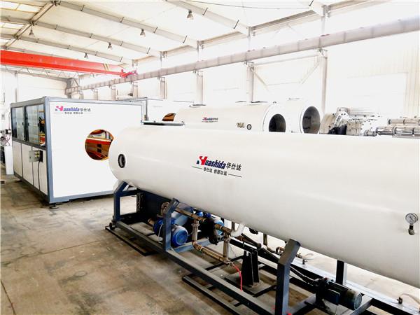 华仕达提供第三代保温管生产线解决方案