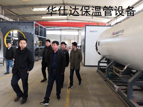 在城市综合管廊建设中华仕达保温管设备发挥了重要作用