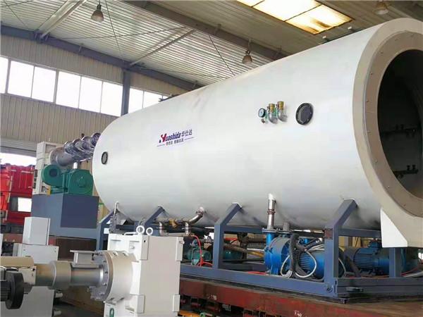 具有强制喂料系统的华仕达保温管生产线
