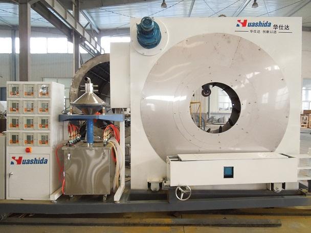 华仕达钢管外壁防腐生产线的处置形式