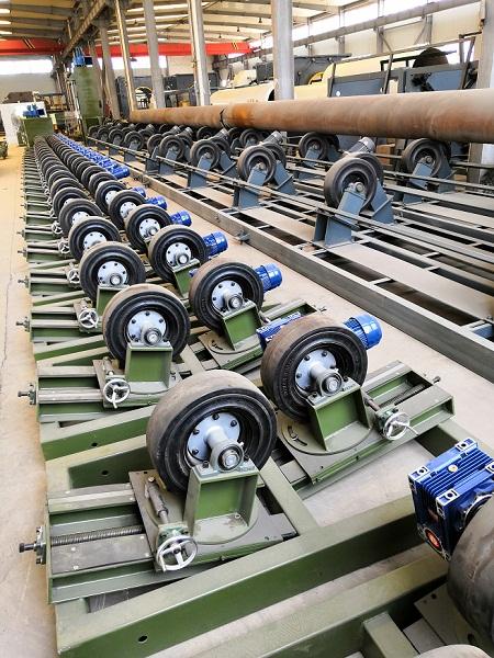 专业华仕达制造专业3pe环氧喷涂防腐生产线