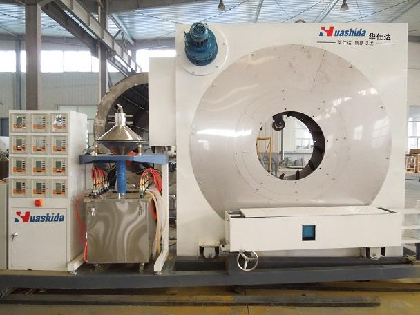关于3PE防腐钢管生产线13608977881