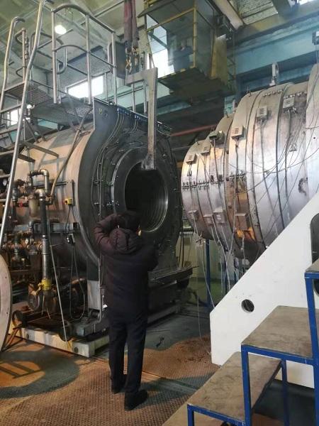 俄罗斯客户特邀华仕达董事长黄保东  商谈采购保温管设备事项