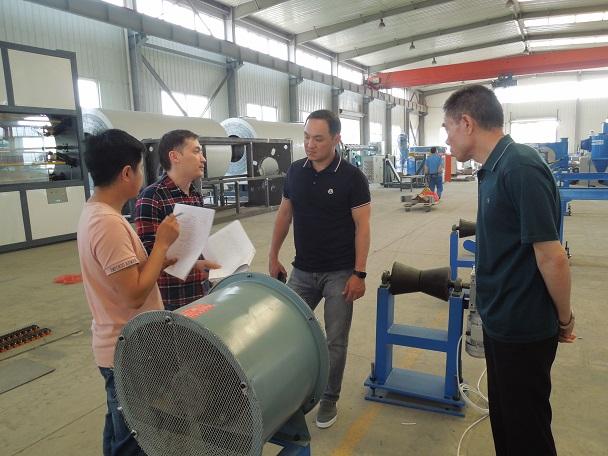 永远在路上华仕达对3PE钢管防腐生产线客户的承诺