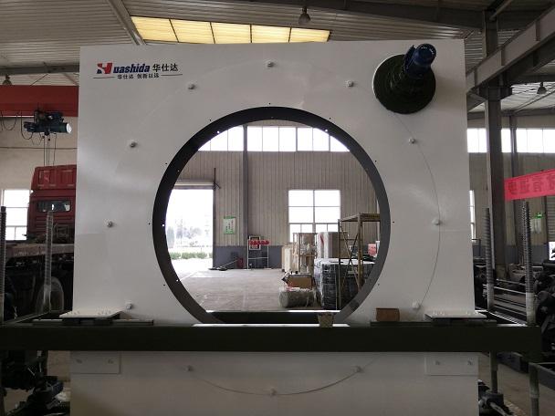 中石化客户选定华仕达1219型弯管防腐生产线