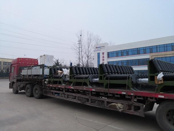 查新证实华仕达426-1220型  弯管喷涂缠绕防腐生产线技术先进