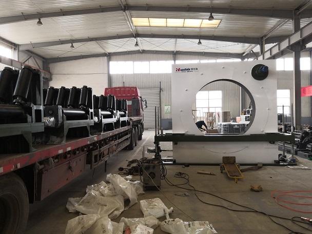 从弯管喷涂缠绕防腐生产线  自动控制系统谈华仕达技术创新