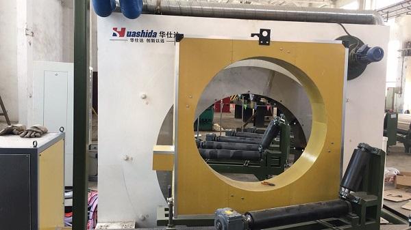 华仕达3PE防腐弯管生产线的三层防护结构
