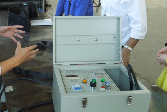 华仕达焊机在太原热力成了传奇  焊工换了一茬又一茬焊机却依然完好