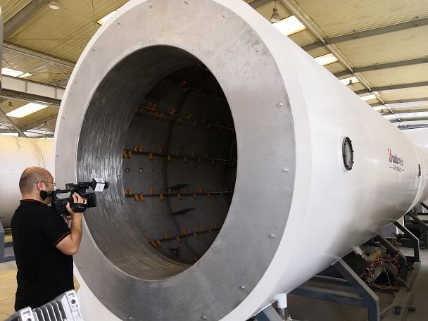 荣获省首台(套)的保温管生产线  代表华仕达走向世界