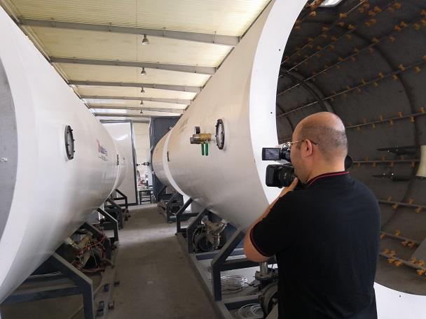 华仕达Φ1860mm保温管设备一直河北双欧稳定运行
