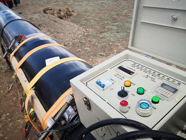满分!海拔5200米华仕达电热熔套30分钟不卸压